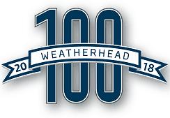 2018 Weatherhead 100 logo